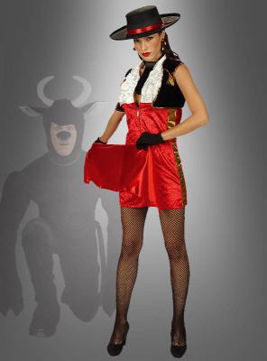 Sexy Spanierin Kostüm Matador