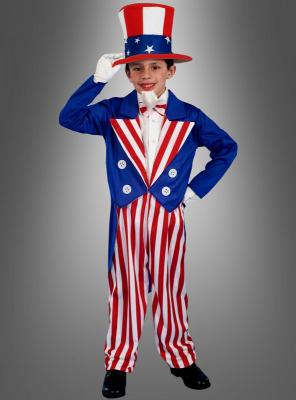 Uncle Sam Kinderkostüm