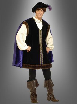 Deluxe Mittelalter Kostüm Graf