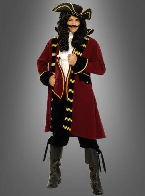Designer Kostüm Pirat Kapitän