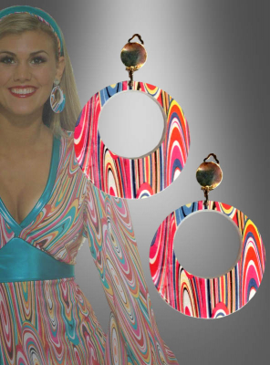 Earrings for GoGo girls and hippies