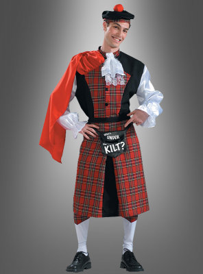 What is under the Kilt scottish costume