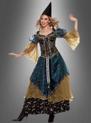 Deluxe zauberhafte Magierin Kostüm