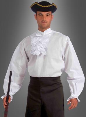 Elegantes Rüschenhemd Herren