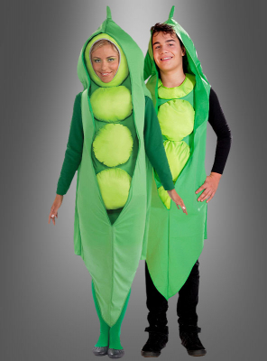 Peas costume adult vegatables