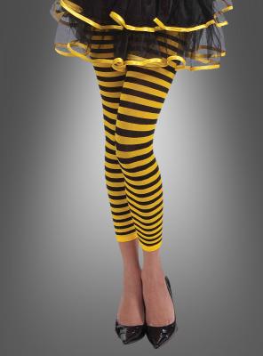 Leggings für Bienen Kostüm