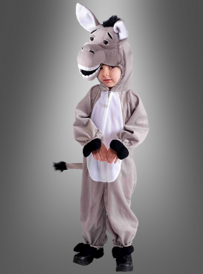 Donkey plush costume