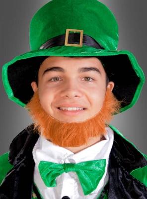 Roter Bart für irische Kobolde