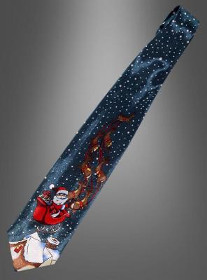 Weihnachtsfest edle Krawatte Satin