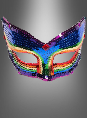 Eye Mask Rainbow