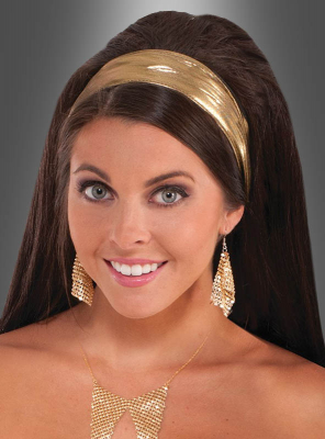 Disco Headband gold