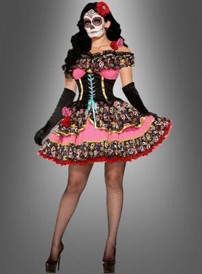 Geisterfrau Senorita Kleid Tag der Toten