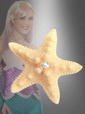 Mermaid Star Fish Hairclip