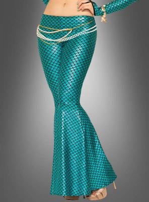 Leggings Meerjungfrau Damenkostüm