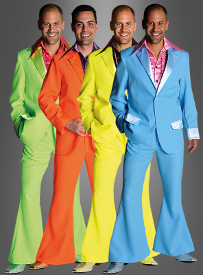 70er Nachtfieber Anzug Discokostüm