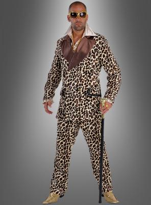 Pimp Outfit Leopard Costume