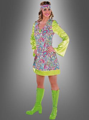 Paisley Damenkleid Hippie