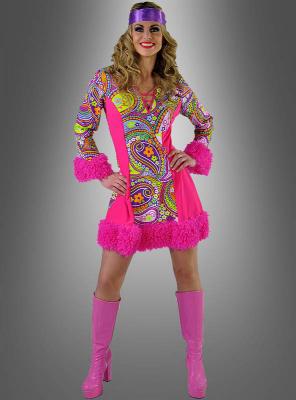 70er Hippie Kleid Yuna
