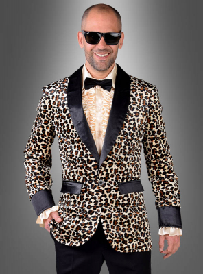Jacket with Leoprint