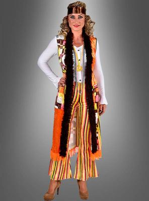 Retro Hippie Damenkostüm Karla