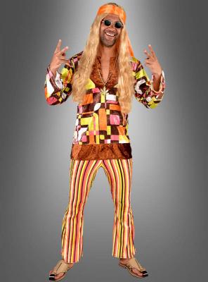 Karl Retro Hippie Herrenkostüm