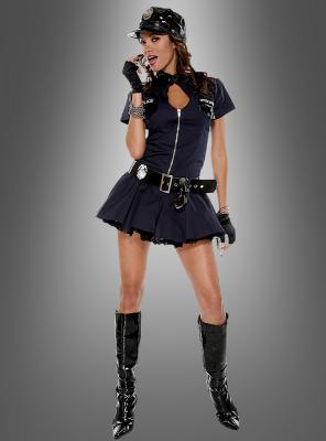 Sexy Playmate Polizistin Komplettkostüm