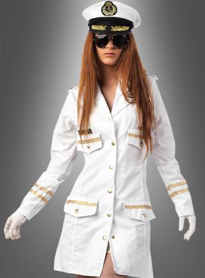 Navy Offizierin Damenkostüm