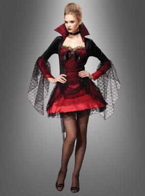 Sexy Vampir Kostüm Damen
