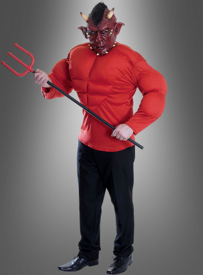 Red Devil Costume with Mask