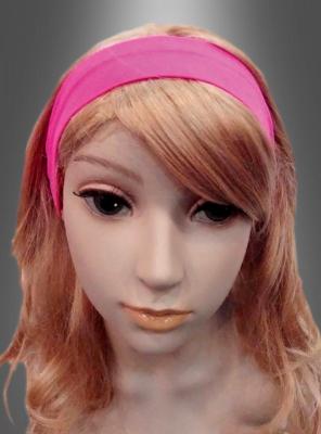 Haarband pink 80er Jahre