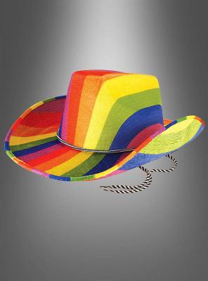 Cowboyhut Regenbogen
