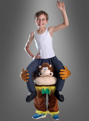 Piggypack Children Costume Monkey