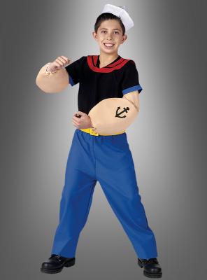 Popey Child Costume
