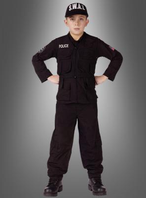 Original  S.W.A.T. Polizei Kinderkostüm