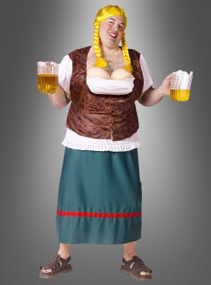 Miss Oktöberbreasts Beer Girl Men Costume
