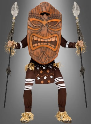 Tiki Costume Totem Warrior for Men