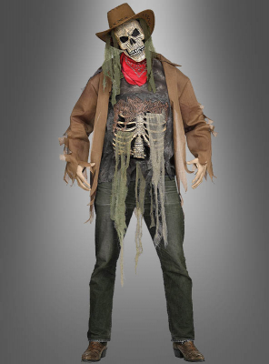 Skeleton Cowboy Costume for Men