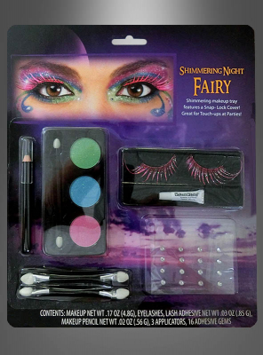 Shimmering Night Fairy Makeup