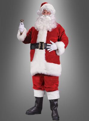 Nikolaus Weihnachtsmannkostüm Übergröße