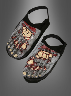 Zombie shoe covers