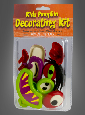Kids pumpkin decoration kit