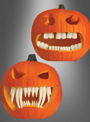 Strumpfhose Pantyhose Halloween schwarz Kürbisköpfe Kürbisse Jack O Latern S//M