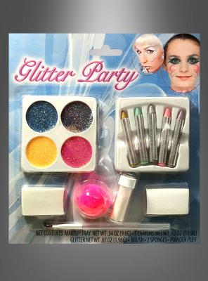 Glitzerparty Make-up Set
