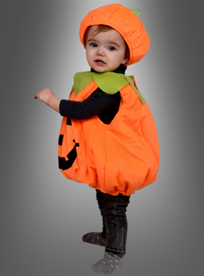 Infant Pumpkin costume with hat
