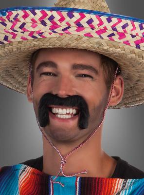 Bart Mexikaner schwarz