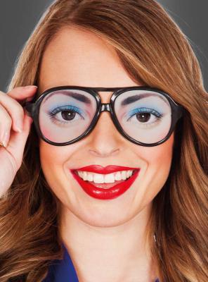 Spaßbrille Augen Damen