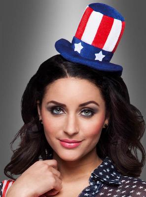 USA Mini Top Hat with Headband