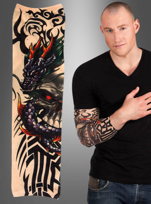 Tattoo Armstulpe Drache 1 Stück