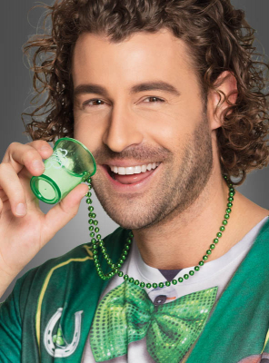 Shot Glass Necklace St. Patricks Day