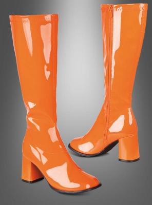 Retro Stiefel orange